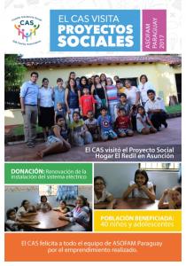 CAS visita ASOFAM en Asunción, Paraguay