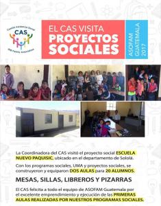 CAS visita ASOFAM en Sololá , Guatemala